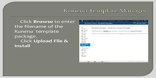 kun´ēzē} » Guide › Installing third-party templates for Kunena